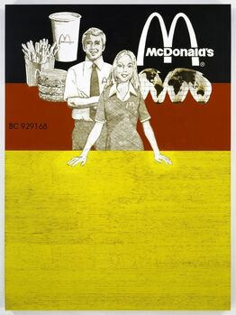 Tom Sachs, McDonald's Stock Certificate (large version)