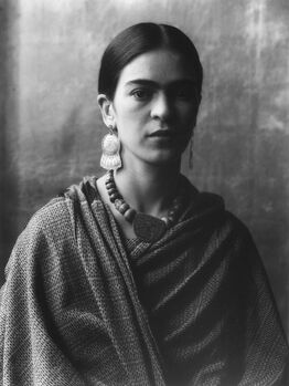 Imogen Cunningham, Frida Kahlo, Painter 3
