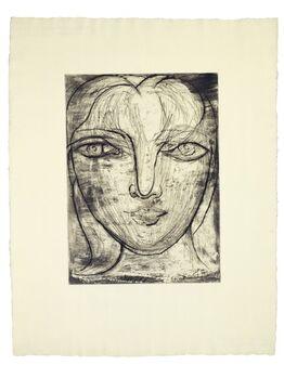 Pablo Picasso, Portrait de Marie-Thérèse de Face