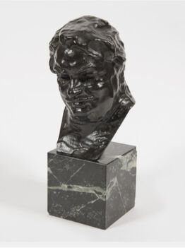 Auguste Rodin, Balzac, étude C (buste), 3ème version, petit modèle