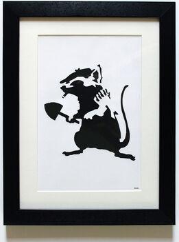 Banksy, Rat Stencil