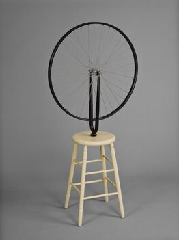 Marcel Duchamp, Bicycle Wheel, 6th version