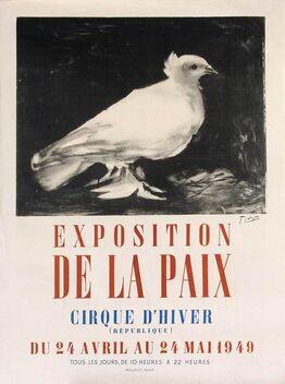 Pablo Picasso, Exposition de la Paix