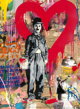 Mr. Brainwash, Charlie Chaplin