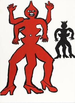Alexander Calder, Two Acrobats from Derrière le Miroir