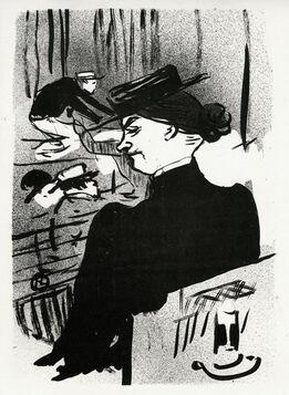 Henri de Toulouse-Lautrec, Une Spectatrice