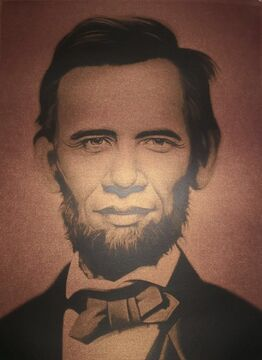 Ron English, Obama Lincoln Brown