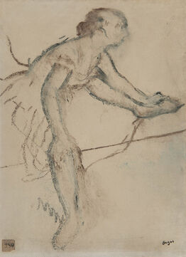 Edgar Degas, Danseuse assise