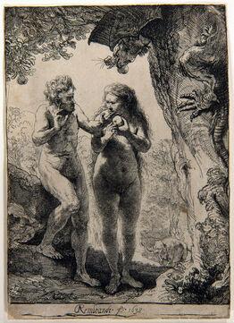 Rembrandt van Rijn, Adam and Eve. Rembrandt