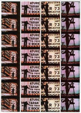 William Klein, Film Strips from Broadway by Light 4