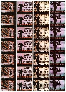 William Klein, Film Strips from Broadway by Light 4