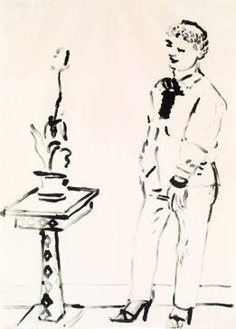 David Hockney, Celia Musing