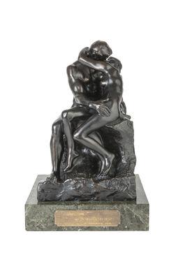 Auguste Rodin, Le baiser, 4ème réduction ou petit modèle