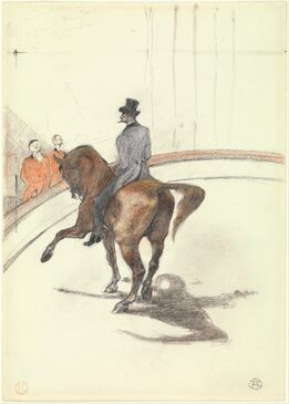 Henri de Toulouse-Lautrec, At the Circus: The Spanish Walk (Au Cirque: Le Pas espagnol)
