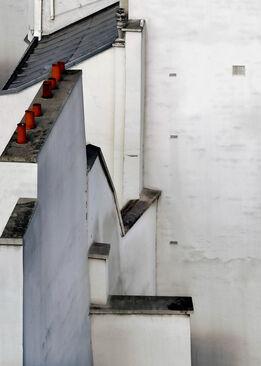 Michael Wolf, #7, Paris Roof Tops