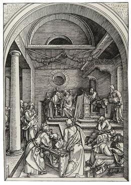 Albrecht Dürer, Der zwölfjährige Jesus im Tempel – Christ among the doctors