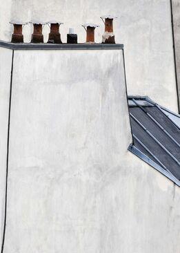 Michael Wolf, #15, Paris Roof Tops