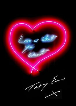 Tracey Emin, Love is What You Want