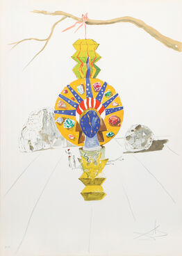 Salvador Dalí, American Clock (Timeless Statue) from Time