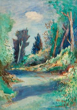 Jean Dufy, Paysage de Touraine
