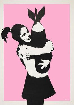 Banksy, BOMB LOVE (BOMB HUGGER)