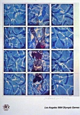 David Hockney, Los Angeles Olympic Games, 1984