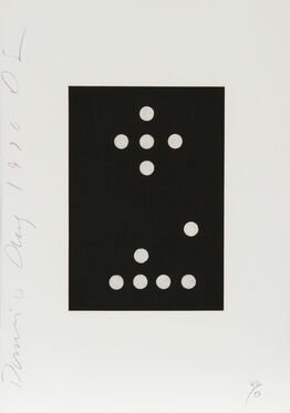 Donald Sultan, Dominoes Portfolio - 27