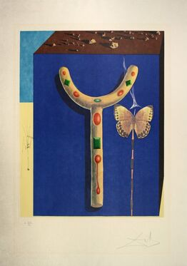 Salvador Dalí, Surrealist Crutches, from Memories of Surrealism.