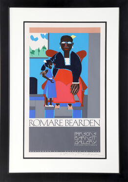 Romare Bearden, Mother and Child, Exhibition at Betty Parsons Gallery