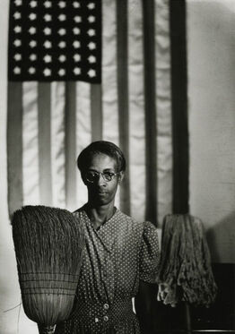 Gordon Parks, American Gothic, Washington, D.C.