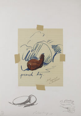 Claes Oldenburg, Untitled (Punching Bag)