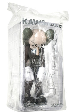 KAWS, SMALL LIE (Brown)
