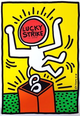 Keith Haring, Lucky Strike II