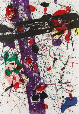 "Sam Francis, Untitled from ""Eight by Eight"""
