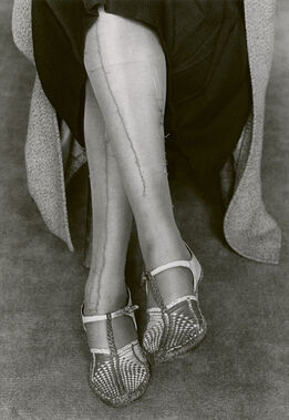 Dorothea Lange, Mended Stockings, San Francisco