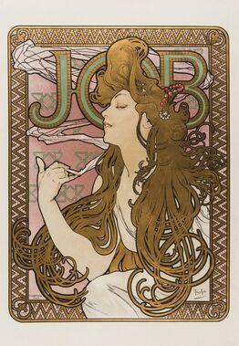 Alphonse Mucha, Job