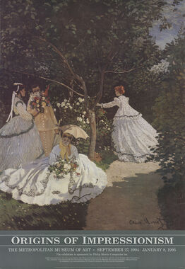 Claude Monet, Women in the Garden