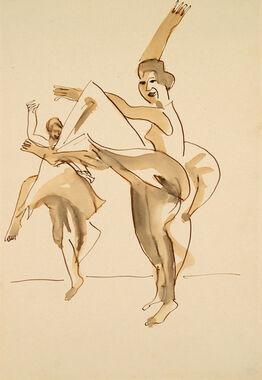 Ernst Ludwig Kirchner, Zwei Tänzerinnen