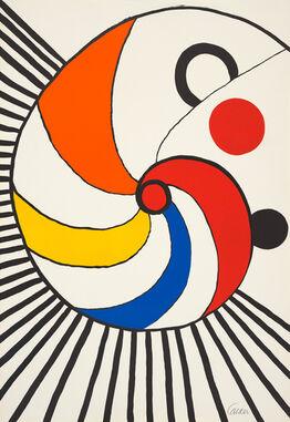 Alexander Calder, Spirale Multicolore