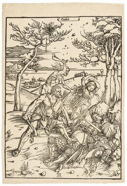 Albrecht Dürer, Hercules conquering Cacus (Hercules conquering the Molionide Twins)