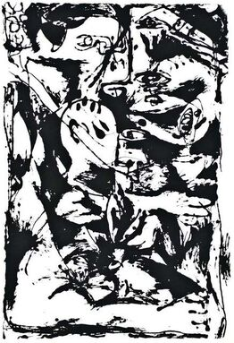 Jackson Pollock, Untitled - Expression no. 2