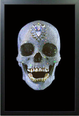 Damien Hirst, FOR THE LOVE OF GOD LENTICULA