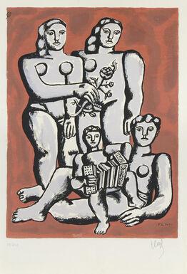 Fernand Léger, Femmes et Enfants a l'Accordeon