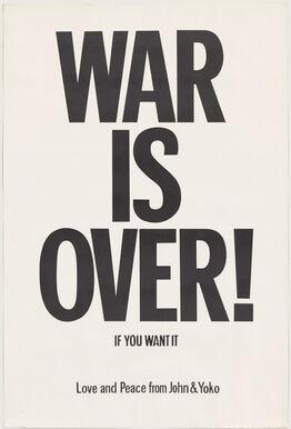 Yoko Ono, WAR IS OVER if you want it