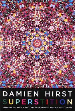Damien Hirst, Superstition Signed Poster