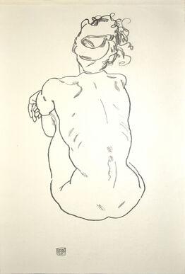 Egon Schiele, Nude of woman