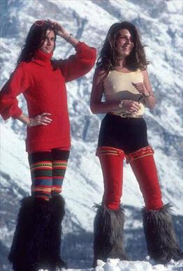 Slim Aarons, Winter Wear, Cortina d'Ampezzo