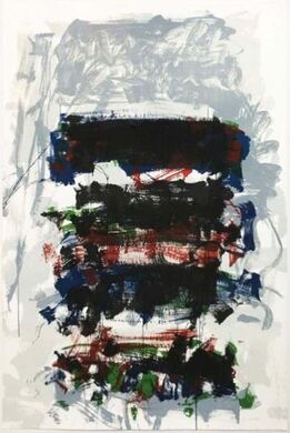 Joan Mitchell, Champs (Fields); from the Carnegie Hall Centennial Fine Art portfolio