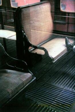 Saul Leiter, Foot on El