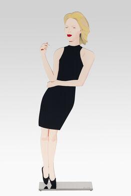 Alex Katz, Black Dress